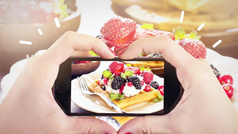 Instagram, la red social que los foodies prefieren