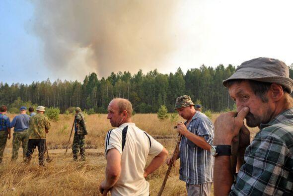 Los incendios forestales que registró Rusia cobraron 6,000 vidas.
