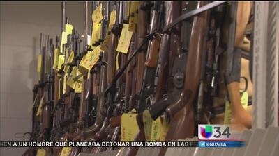 LAPD exige restricciones en armas de fuego