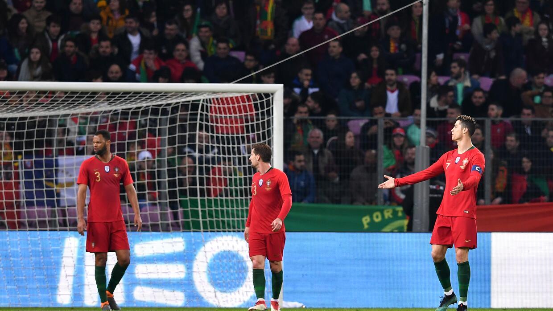 El equipo de Cristiano Ronaldo fue superado ampliamente por Holanda, que...