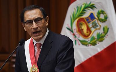 Vizcarra saltó a la vida política el 2010 cuando fue elegi...