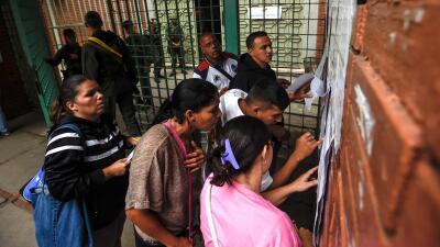 En fotos: el chavismo vota polémica Constituyente impulsada por Nicolás Maduro