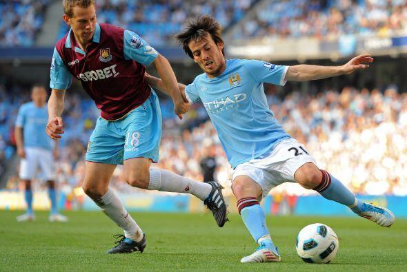 Y finalmente el Manchester City recibió al West Ham.