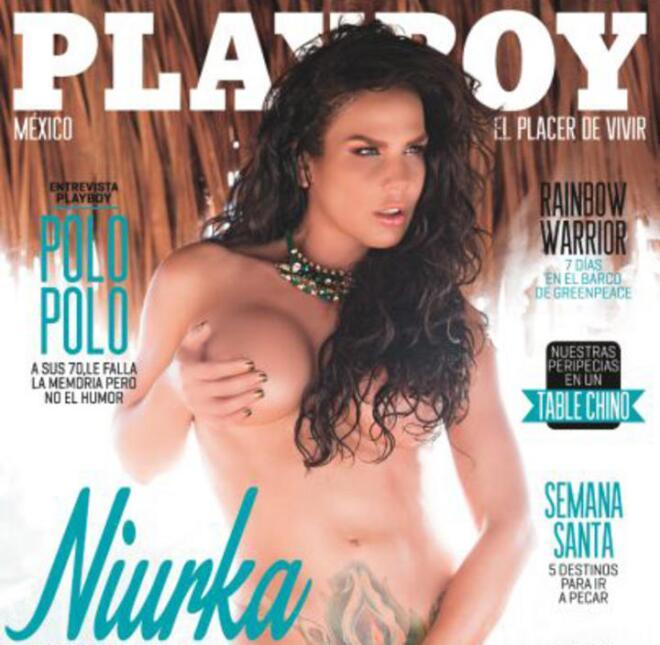 Niurka poso en múltiples ocasiones para la revista Playboy México. A la...