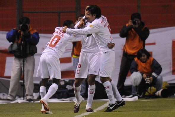 El partido de ida de la Recopa Sudamericana lo ganó Liga de Quito por 2-...