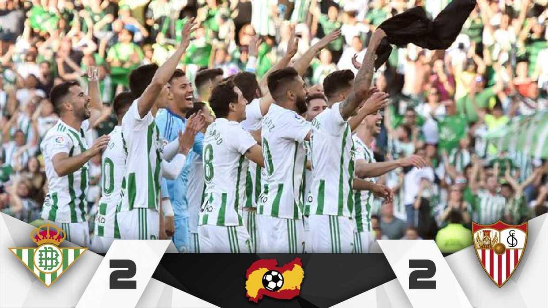 Emocionante clásico: el Betis de Guardado y el Sevilla de Layún ...