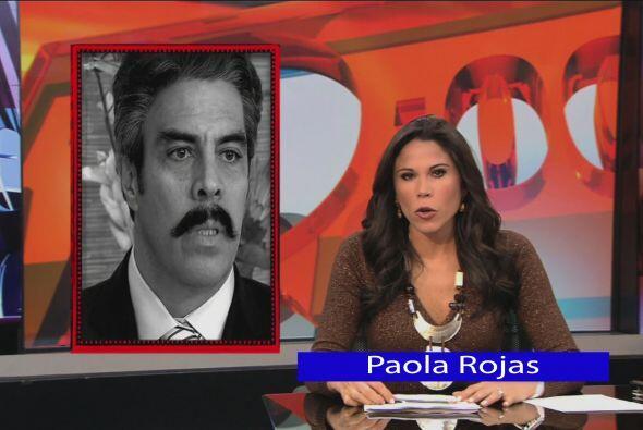 Pero escucharon en las noticias que un tal Fidel Romero Gordillo estaba...