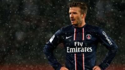 'Becks' ya debutó con los parisinos y ahora tendrá su primera participac...
