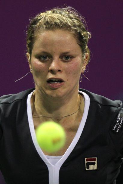 Clijsters, de 27 años y ganadora del título local en el 2002 y el 2003,...