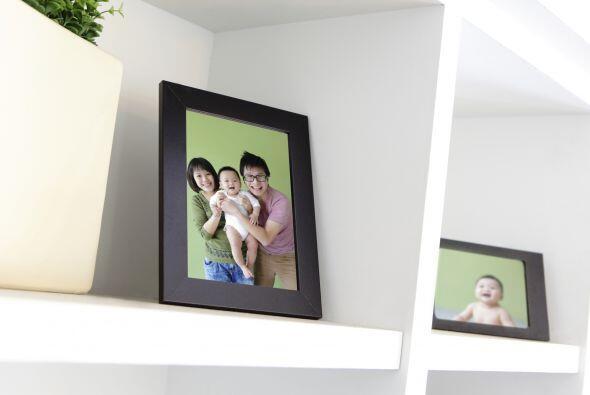 Hazlo tuyo. Nada como las fotos familiares para darle el toque personal...