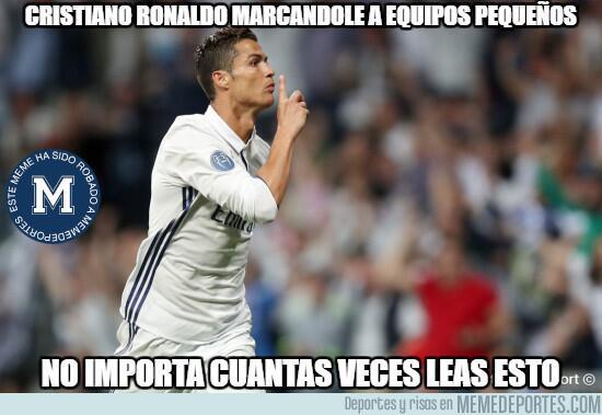 Cristiano le llenó la canasta al Atlético, y los memes también MMD_10070...
