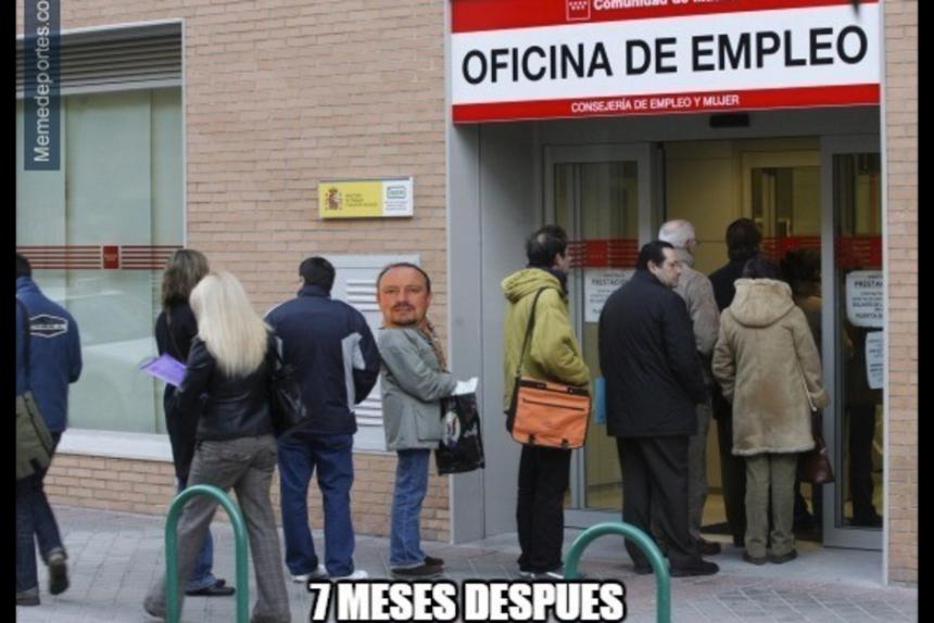 Los memes del despido de Rafa Benítez