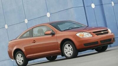 El Cobalt fue uno de los autos más afectados con el defecto del sistema...