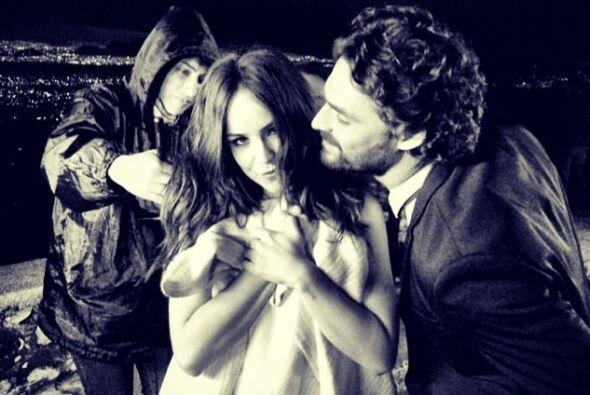 """Hace unos meses grabó la serie """"Señorita Pólvora"""" al lado del Iván Sánchez."""