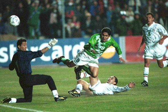 Para 1997 bolivianos y mexicanos se volverían a ver las caras en...