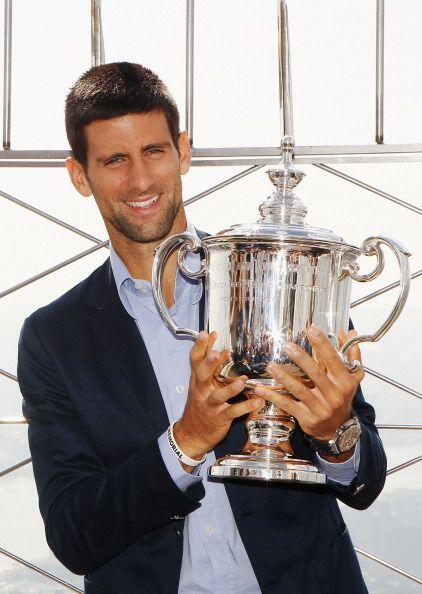 Djokovic, de 24 años, derrotó en la final al español y campeón del pasad...