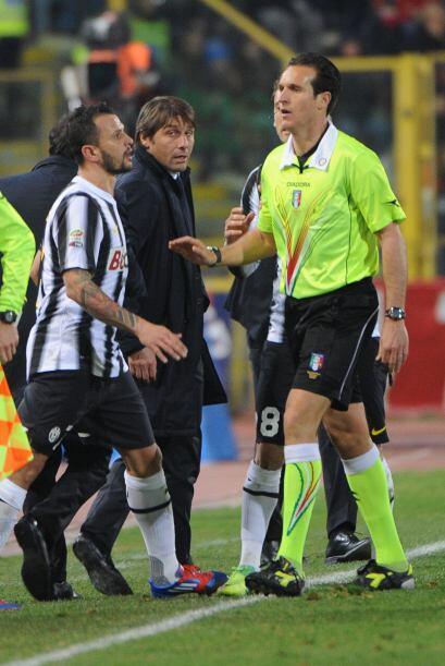 Parecía que llegaba el gol del triunfo para la 'Juve' pero lo que llegó...