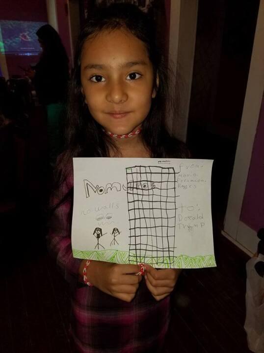 María Fernanda Reyes, de San Antonio (Texas) optó por dirigir su carta a...