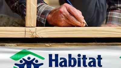 La filial de la organización 'Habitat for Humanity' en el condado de Dek...