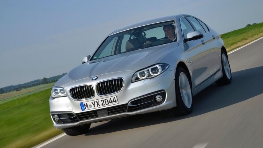 Estos son los autos con el índice de mortalidad más bajo en EEUU BMW-5-S...