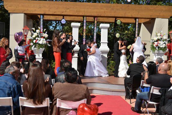 Este fue uno de los momentos más emotivos de la ceremonia.
