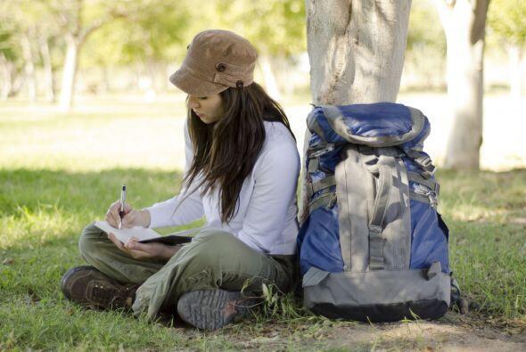 Si les gusta escribir, armen un diario de viaje. ¡Tendrán mil anécdotas...