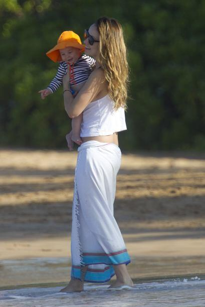 La maternidad le ha sentado muy bien a Olivia Wilde.