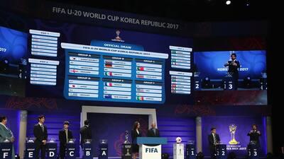 El sorteo del Mundial Sub-20 se vivió como una fiesta con Maradona y Aimar abordo