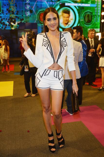 La modelo colombiana Daniela Botero también en la gala de 2015.