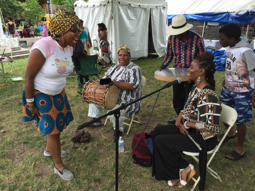 Las canciones con mensajes de justicia social se escucharon en el festiv...