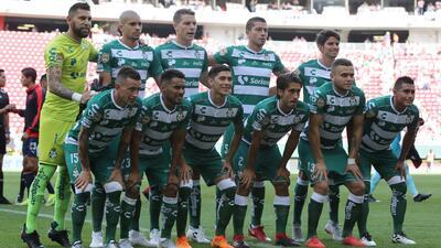 Este es el once titular de Santos Laguna para enfrentar a Tigres