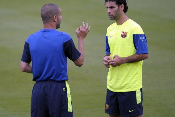 Siempre fue bien aconsejado por Guardiola.