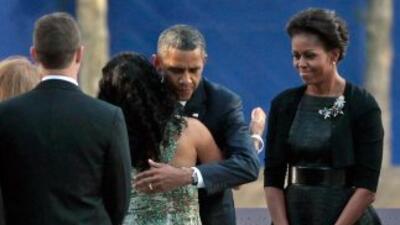 Obama encabezó los actos de conmemoración por el décimo aniversario de l...