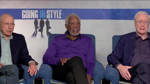 'Going in Style' es una película que promete millones de carcajadas, hab...