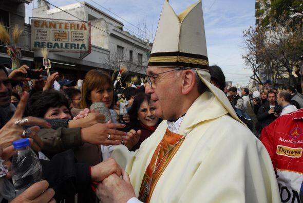 """Otra galería de fotos muy visitada fue: """"La vida del papa Francisco""""."""