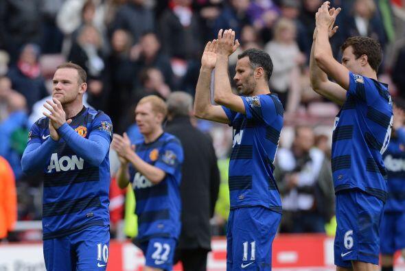 Decepción total entre el plantel del United, que fue víctima de errores...