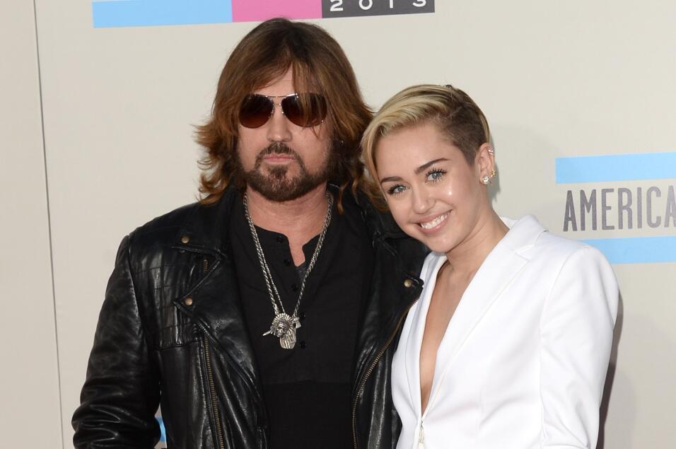 Miley Cyrus y Billi Ray Cyrus