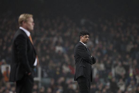 Ambos coincidieron como técnicos en la Liga Española: Rijkaard con Barce...