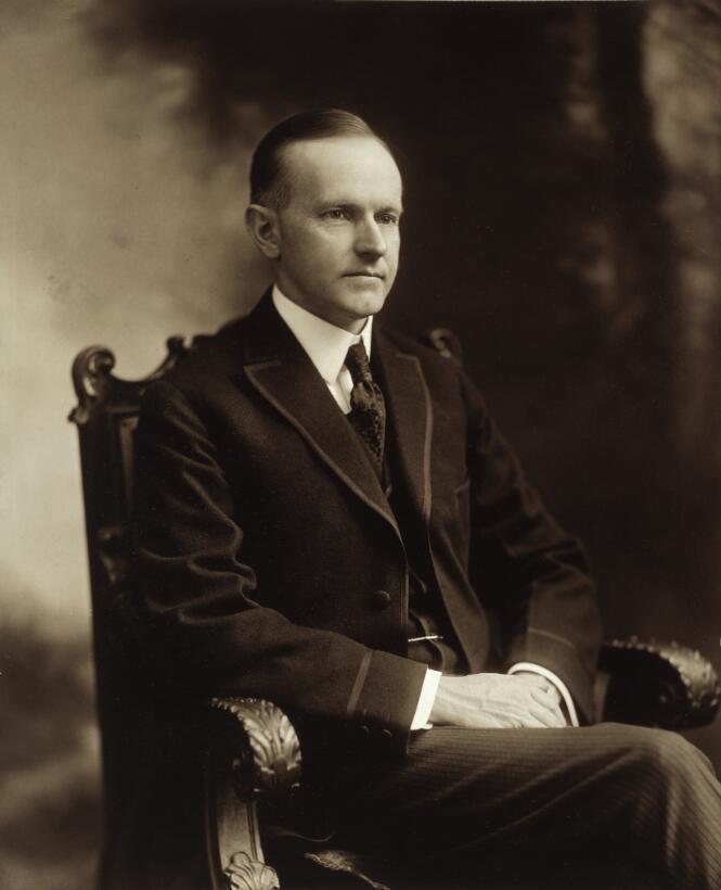 Calvin Coolidge (1872–1933) solía llamar a todos los empleados de la Cas...