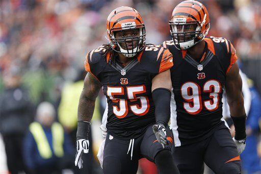 Vontaze Burfict, apoyador interno de los Cincinnati Bengals (AP-NFL)