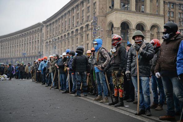 La oposición sospechó que Yanukovich había llegado...