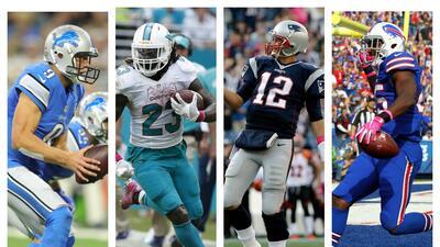 Top 10 figuras de la Semana 6 en la NFL