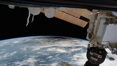 Estas son las fotos del eclipse que los astronautas y la NASA tomaron desde el espacio