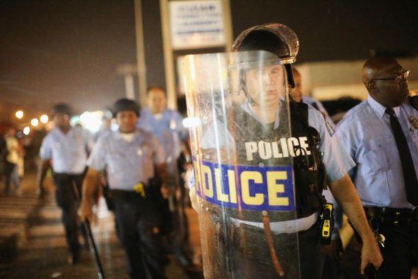 Los incidentes en la ciudad se suscitaron después de que un adolescente...
