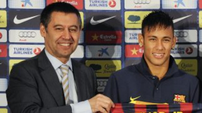 Bartomeu será imputado por irregularidades en la contratación de Neymar.