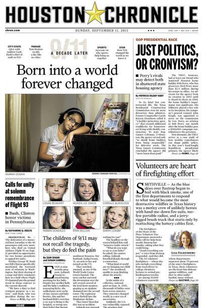 Cortesía del Houston Chronicle vía Newseum