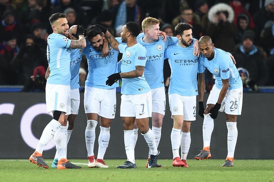 Manchester City golea al Basel y pone pie y medio en cuartos de final ge...