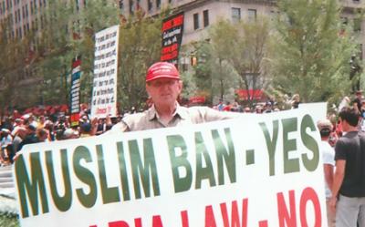 """""""Sí al veto migratorio a los países musulmanes"""",..."""