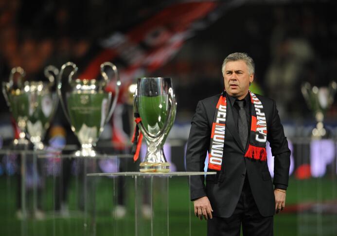 El primero de ellos fue Carlo Ancelotti que dirigió al A.C. Milan del 20...