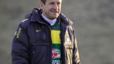 Dunga dirigió a Brasil en el Mundial de Sudáfrica 2010.